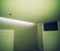 Restauro interno, particolare impianto a LED